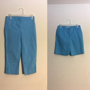 Talbots Shorts - NWT 2 pc. Talbots Blue Set (Shorts & Capris)